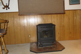Pellet Stove_ Living area